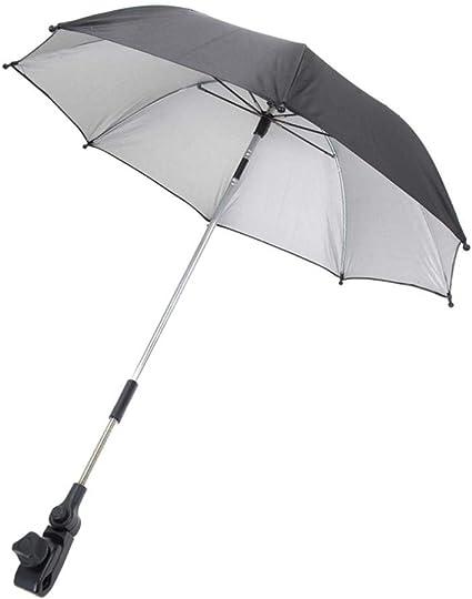 Sombrilla para cochecito de beb/é toldo para cochecito azul azul cochecito silla de paseo y silla de paseo paraguas universal para protecci/ón solar UV