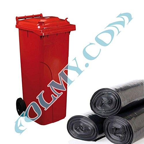4 bolsas de basura para AUSK sufren de contenedores. 240 ...