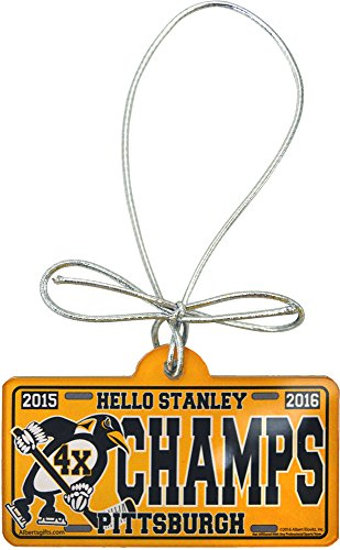 Champs Ornament (Hello Stanley Pittsburgh 4X Champs Acrylic Ornament)