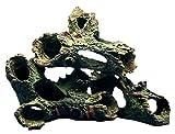 Aquarium Fish Tank Ornament Rockery Hiding Cave Landscape Tree Underwater Decor (Design D)