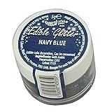 2 x Rainbow Dust NAVY BLUE 100% Edible Cup Cake Sparkle Glitter Sugarcraft Decor