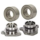 Prime Choice Auto Parts WB052HB242 2 Wheel Hubs and 2 Wheel Bearings Front and Rear Left and Right