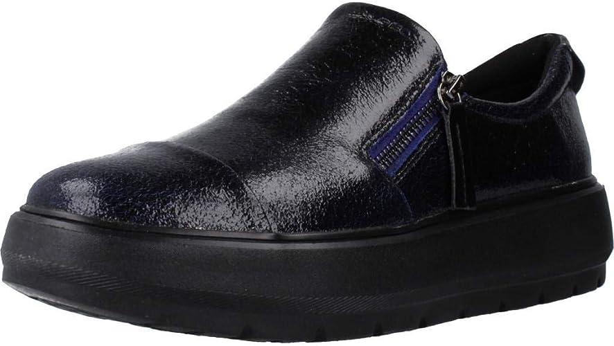 Esquivar Galantería Alojamiento  Geox Women's D Kaula H Slip On Trainers: Amazon.co.uk: Shoes & Bags