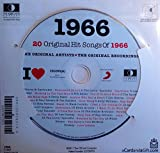 1966 Birthday Anniversary Gifts - 1966 I Heart CD and 1966 Greeting Card