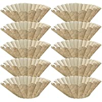 Think Crucial 1000PK Replacement for Bunn Unbleached Paper Coffee Filter Fits 12 Cup Commercial Coffee Brewers, Compatible with Part # 1M5002 & 20115.0000