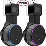 TOOVREN Upgraded Outlet Wall Mount Holder Stand for Dot 3rd Generation (No Muffled Sound) Space-Saving Accessories for Your Smart Home Speakers Without Mess Wires or Screws (2 Pack)
