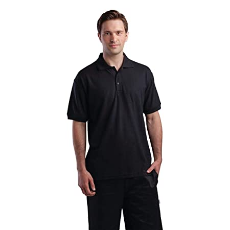 Polo unisex negro XL: Amazon.es: Hogar