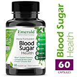 Blood Sugar Health – with Gymnema Sylvestre, Cinnamon Bark, & Alpha Lipoic Acid – Supports Glucose & Carbohydate Balance, Minimize Sweet Cravings – Emerald Laboratories – 60 Vegetable Capsules