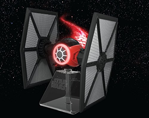 092298924700 - Star Wars Bluetooth Speaker - The Force Awakens First Order Tie fighter Villain Starfighter Lights Up When In Use carousel main 3
