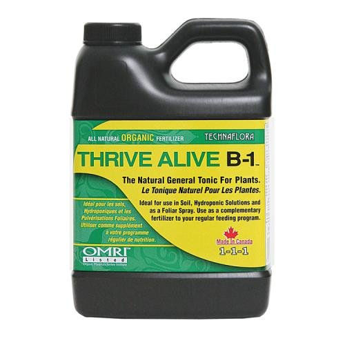 Technaflora Thrive Alive B-1 Green 0-0 - 1 Thrive Alive B-1 Green 500 ml (12/Cs)