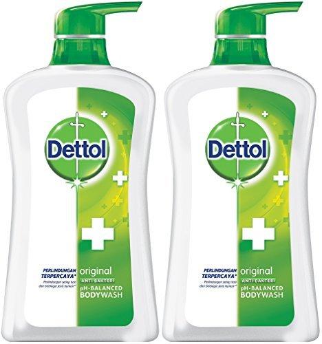 Dettol Anti Bacterial pH-Balanced Body Wash,...