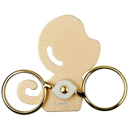 Monkey Style Double 360-Degree Rings Stand, Ring Holder, Rings Kickstand for Universal Tablets and Phones Design By I-MU