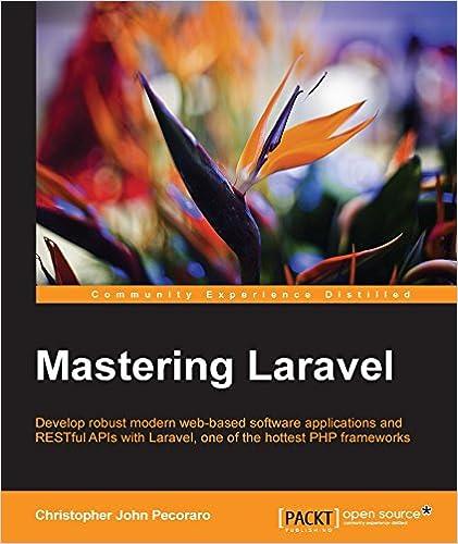 Mastering Laravel, Christopher Pecoraro, eBook - Amazon com