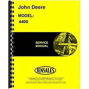 amazon com new service manual for john deere 4400 industrial rh amazon com john deere 4400 service manual pdf john deere 4300 service manual free download