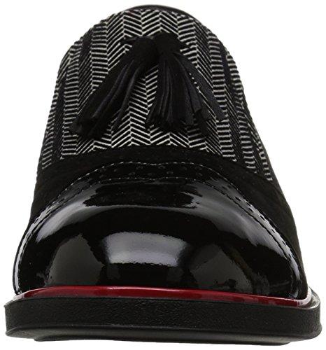 Beautifeel Mujeres Ria Mary Jane Pump Marfil / Negro Combinación Spigato 3d