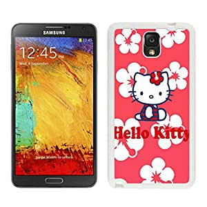 Personalized Design Samsung Note 3 Hello Kitty 29 Cell Phone Cover Case for Galaxy Note3 III N900 N9005 White