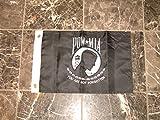 12×18 POW MIA pow mia POWMIA Prisoner Of War Embroidered Sewn Nylon Flag 12″x18″ Banner Review