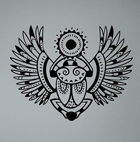 zzlfn3lv Símbolo Egipcio Khepri Tatuajes de Pared Escarabajo ...
