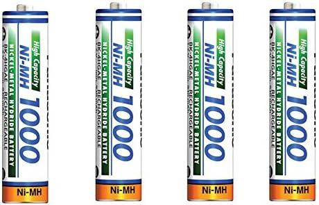 weltatec @ 4 x baterías AAA High 1000 mAh para Siemens Gigaset A58H A58 H Teléfono weltatec + Limpiador de pantalla: Amazon.es: Electrónica