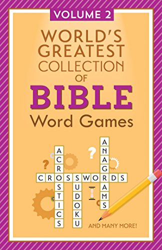World's Greatest Collection of Bible Word Games: Volume 2 (Stick-With-Me Notes)