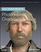 Maya Studio Projects Photorealistic Characters Front Cover