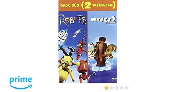 Robots+Ice Age 2: El Deshielo [DVD]: Amazon.es: Animación, Carlos Saldanha, Chris Wedge, Lori Forte, Jerry Davis: Cine y Series TV