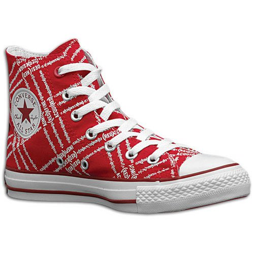 Converse CT AS RED HI red/white Red/White