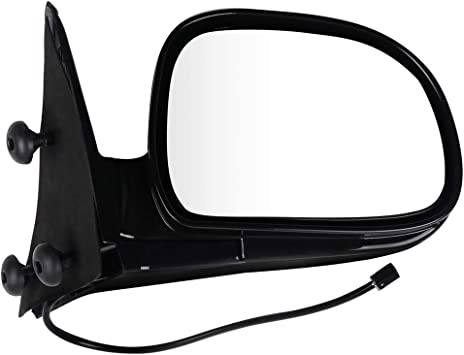 ANPART Side Mirrors Fit for 1995-1997 Chevy Blazer S10 GMC Jimmy S-15 1994-1997 Chevy S10 Pickup GMC S-15 Sonoma Olds Bravada Driver Side and Passenger Side Mirrors Power Adjustment Manual Folding