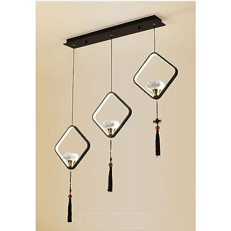 LNLW Luces de techo lámpara de araña restaurante iluminación ...