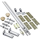 National Hardware N343-731 391D Folding Door Hardware Set in White
