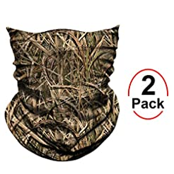 AXBXCX 2 Pack - Camouflage Print Seamles...