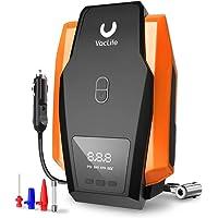 VacLife Portable Air Compressor for Car Tires, DC 12V Air Compressor Tire Inflator, Tire Pump with LED Light, Digital…