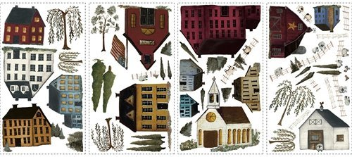 Magnificent Peel & Stick By RoomMates Country Scenic Wall Decals