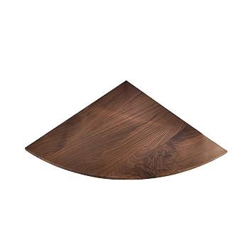 QZz Home® Nordeuropa Regal Küche Wand Massivholz Trennwand Eckregal  Wohnzimmer Dekoration (Größe : B