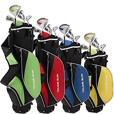 Young Gun ZAAP ACE Junior Kid golf club Youth Set & bag