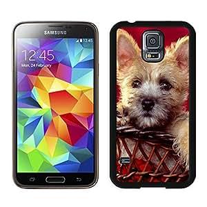 Customization Christmas Doggy Black Samsung Galaxy S5 Case 1