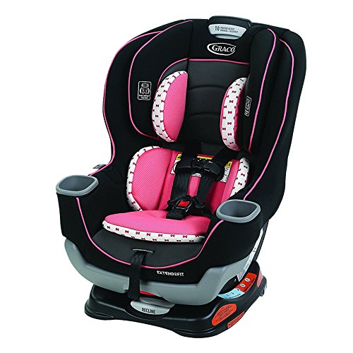 Disney Car Seats - Graco Extend2Fit Convertible Car Seat, Kenzie