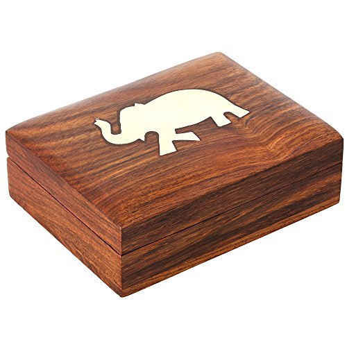 Gift Case Wooden (Decorative Playing Cards Wooden Gift Box Case)