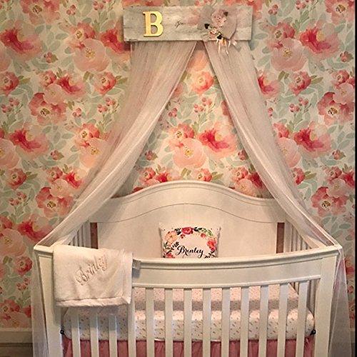 Amazon Com Shabby Chic Bed Bedroom Crib Canopy Victorian