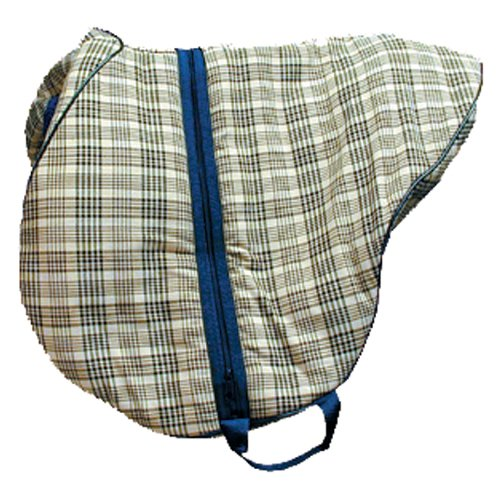 High Spirit Saddle Carrying Bag for English Saddles, Horsemans Plaid