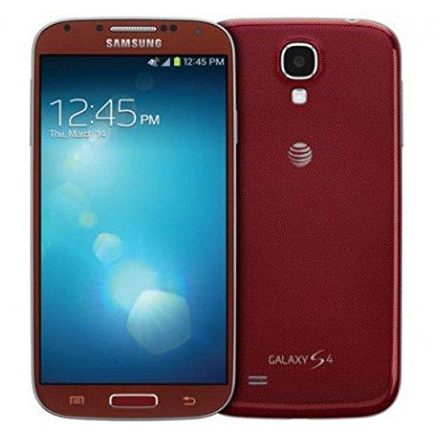 Unlocked Smartphone Red (Samsung Galaxy S4 SGH-I337 Unlocked GSM Smartphone w/ 13 MP Camera - Red (No Warranty))