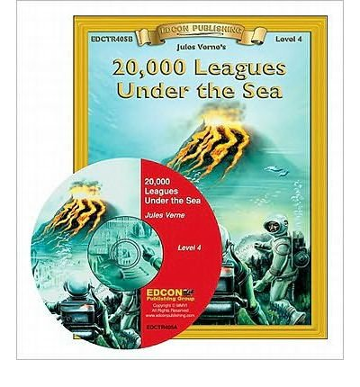20,000 Leagues Under the Sea Read Along: Bring the Classics to Life Book and Audio CD Level 4 (Bring the Classics to Life) (Mixed media product) - Common by Edcon Publishing Group