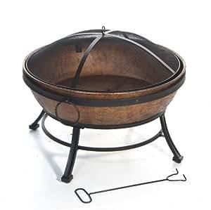 DeckMate Kay casa del producto Avondale cuenco de fuego de acero