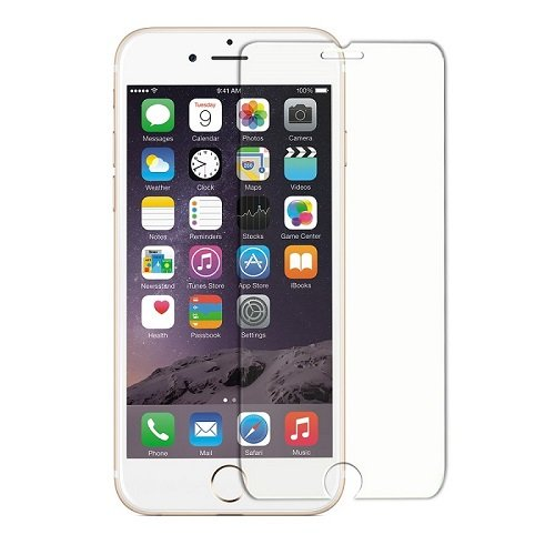 PITAKA Screen Protector Compatible with iPhone 6 Plus/6s Plus, Tempered Glass 0.33 mm Rounded Edge Glass Screen Protector Ultra Clear, Anti-Fingerprints(5.5 Inch)