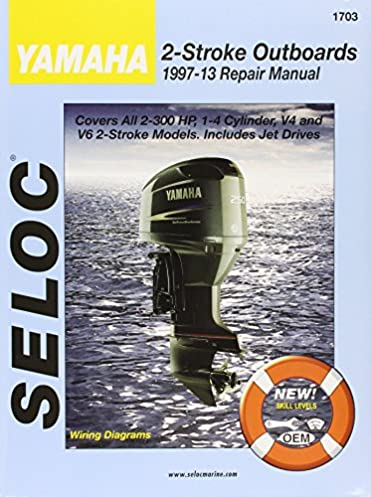 yamaha outboards 1997 2014 2 stroke seloc 9780893300654 amazon rh amazon com yamaha outboard motors manuals for 8hp yamaha outboard motor service manual pdf