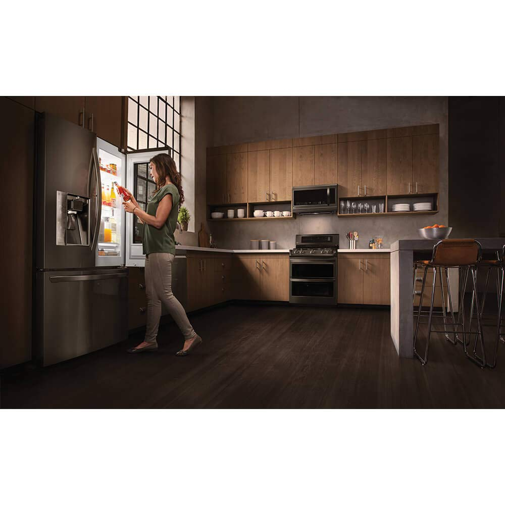 LG LMHM2237BD 2.2 cu. ft. Over-the-Range Microwave Oven with EasyClean by LG (Image #8)