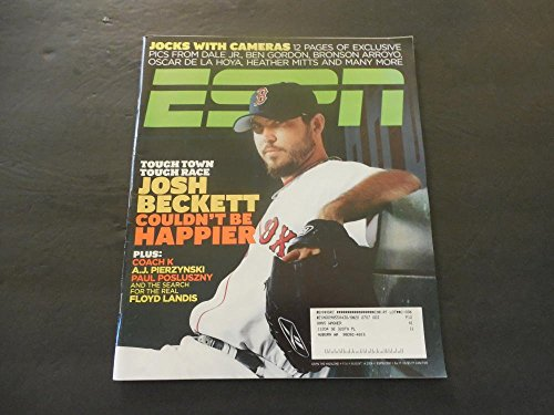 ESPN Magazine Aug 14 2006 Josh Beckett Couldn't Be Happier (I'm So Glad)