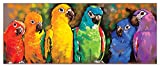 Melissa & Doug 1,000-Piece Parrot Rainbow Jigsaw Puzzle (over 3 feet long)