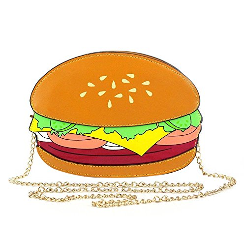 (Ximimark Women Girl Hamburger Satchel Shoulder Crossbody Messenge Handbag Bag Purse)