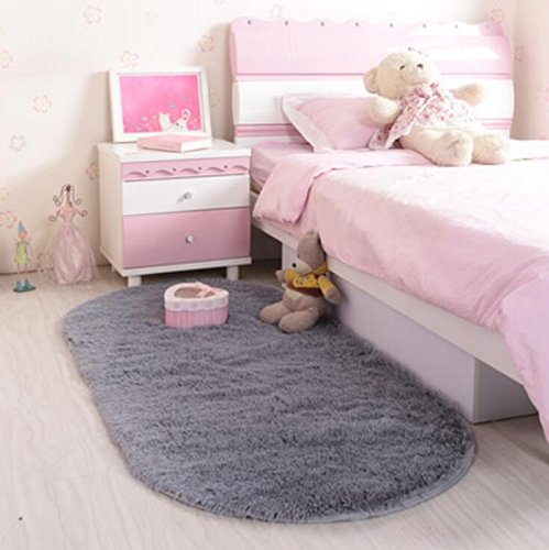 ACTCUT Super Soft Indoor Modern Shag Area Silky Smooth Rugs
